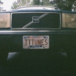 Old Blue Sporting TTTunes License Plate