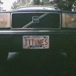 Old Blue Sporting TTTunes License Plate